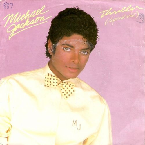 MICHAEL JACKSON Thriller (Special Edit) Vinyl Record 7 Inch Dutch Epic 1983